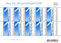 Holland - Frimærkets dag - Postfrisk ark