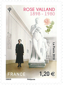 France - Rose Valland - Timbre neuf