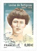 Frankrig - Louise Bettignies - Postfrisk frimærke
