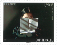 France - Sophie Calle - Timbre neuf