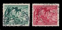 Tyske Rige - 1938 - Michel 684/685 - Stemplet