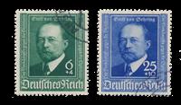Tyske Rige - 1940 - Michel 760/761 - Stemplet