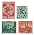 German Empire - 1940 - MICHEL 744/745 en 748/749 -  Cancelled