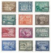 Empire Allemand - 1939 - Michel 702/713, oblitéré