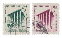 Empire Allemand - 1939 - Michel 692/693, oblitéré
