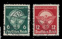 Impero Tedesco - 1939 - Michel 689/690, timbrato