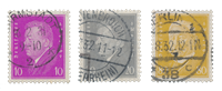 German Empire - 1930 - Michel 435/437, cancelled