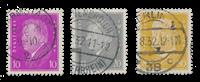 Tyske Rige - 1930 - Michel 435/437 - Stemplet