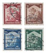 Duitse Rijk - 1935 - Michel 565-558 - Gebruikt