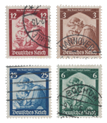 Empire Allemand - 1935 - Michel 565/558, oblitéré