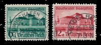 Tyske Rige - 1938 - Michel 673/674 - Stemplet