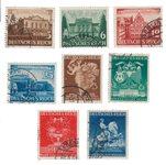 Empire Allemand - 1941 - Michel 764/767 en 768/771, oblitéré