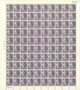 Danmark - AFA 207a helark postfrisk