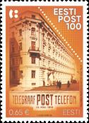 Estonie - Centenaire de la poste estonienne - Timbre neuf