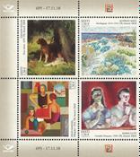 Estland - Malerier - Postfrisk sæt 4v