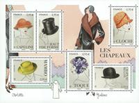 Frankrig - Hatte - Postfrisk miniark