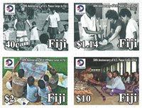 Fiji - Fredskorps - Postfrisk sæt 4v