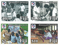 Îles Fidji - Corps de la Paix - Série neuve 4v