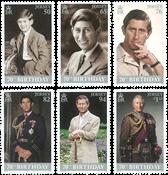 Jersey - Prince Charles de Galles - Série neuve 6v