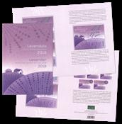 Ungarn - Lavendel specialfolder - Postfrisk - totalt udsolgt fra postvæsent