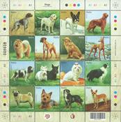 Malta - Hunde - Postfrisk ark