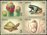 FN Wien - Truede dyr - Postfrisk sæt 4v