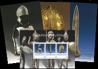 Pays Bas - Flet Art guerrier + cartes - Bloc-feuillet neuf et 3 cartes postales