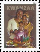 Etats-Unis - Kwanzaa 2018 - Timbre neuf adhésif