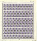 Danmark - Helark 213-H incl. variant i nr. 34+42