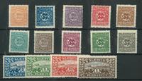 Danmark Slesvig - AFA 15-28 postfrisk