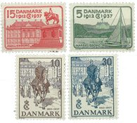 Danmark - AFA 239-242 postfrisk