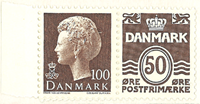 Danmark - AFA 571aux i hæfte