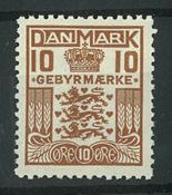 Danmark - AFA 3 postfrisk