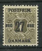Danmark - AFA 85x postfrisk