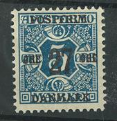 Danmark - AFA 86x postfrisk