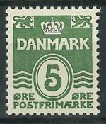 Danmark - AFA 234 postfrisk
