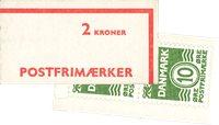 Danmark - 2 kr automathæfte - AFA3