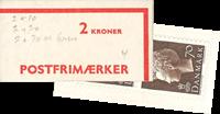 Danmark - 2 kr automathæfte - afa nr.4
