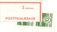 Danmark - 2 kr automathæfte - afa nr.5