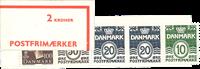 Danmark - 2 kr automathæfte - afa nr.6