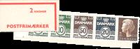 Danmark - 2 kr automathæfte - afa nr.7