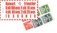 Danmark - 10 kr frimærkehæfte - AFA3