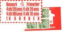Danmark - 10 kr frimærkehæfte - AFA4