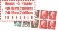 Danmark - 10 kr frimærkehæfte - AFA5