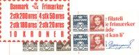 Danmark - 10 kr frimærkehæfte - AFA7