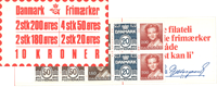 Danmark - 10 kr frimærkehæfte - afa nr.7