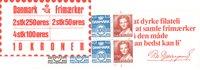 Danmark - 10 kr frimærkehæfte - AFA8