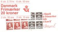 Danmark - 20 kr frimærkehæfte - AFA1