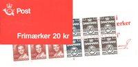 Danmark - 20 kr frimærkehæfte - AFA2