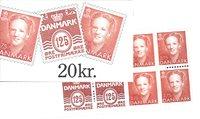 Danmark - 20 kr frimærkehæfte - AFA7